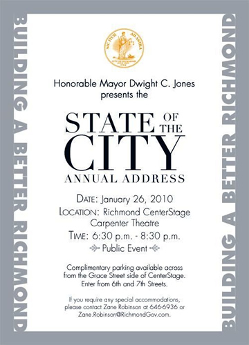 State of the City 2010